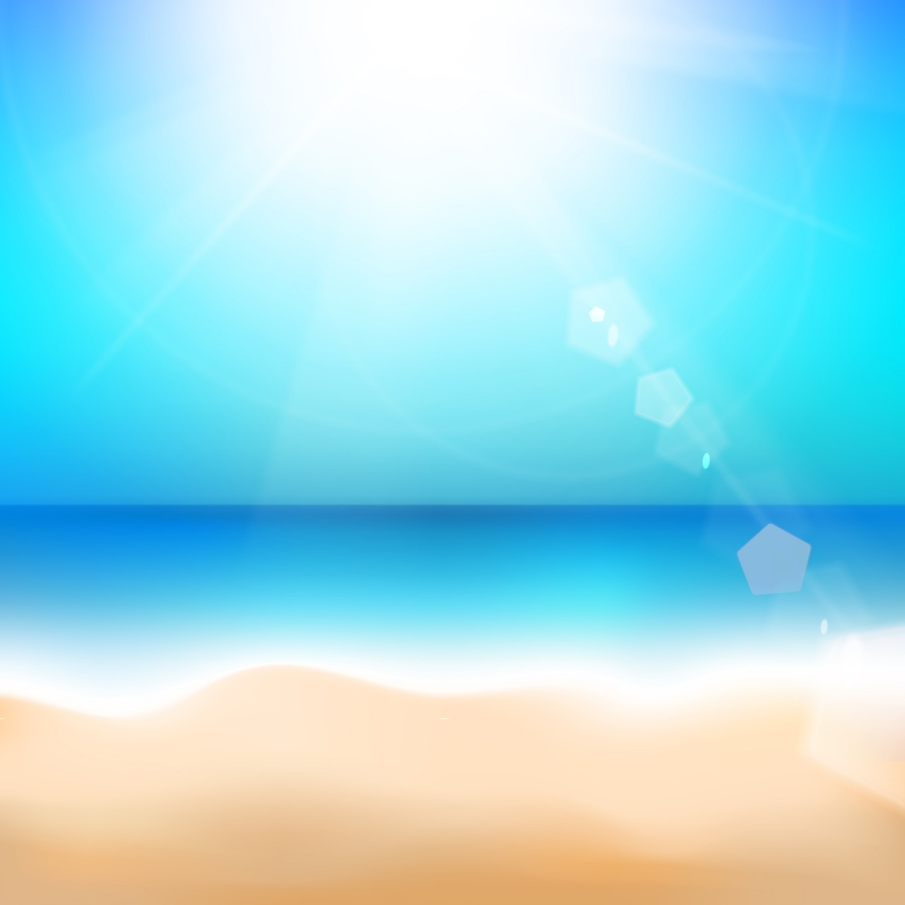 Sun and air, sea and sand
